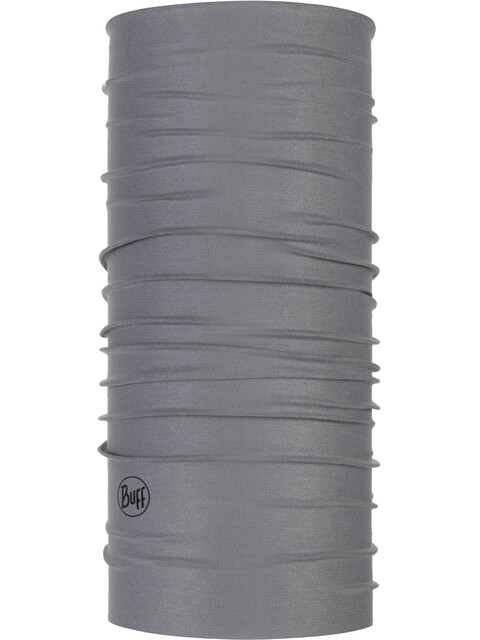 Buff Coolnet UV+ Neck Tube Solid Grey Sedona
